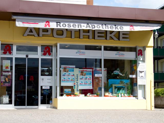 Gebäude Rosen Apotheke